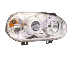 VW Golf IV 97.08-03.09 pr.žib.kompl.chrom.su lęšiu LED tuning D/K
