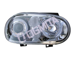 VW Golf IV 97.08-03.09 pr.žib.kompl.chrom.skaidr.LED tuning D/K